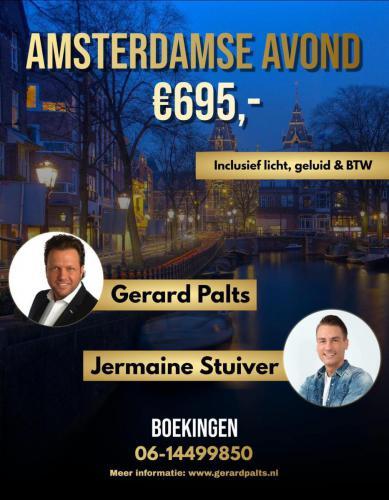 Amsterdamse avond met Gerard Palts & Jermaine Stuiver